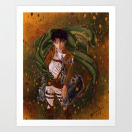 Attack On Titan - Levi Ackerman (Version 5/5) Art Print
