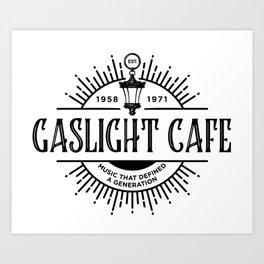 The Marvelous Mrs Maisel - GASLIGHT CAFE Art Print