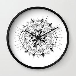 Mandala Series 03 Wall Clock