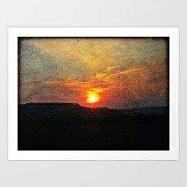 Goodnight, Sun Art Print