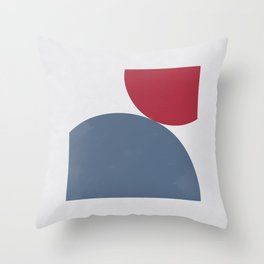 Connection II Throw Pillow