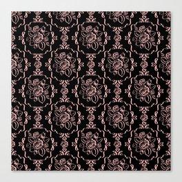 Victorian Romance - Pink Canvas Print