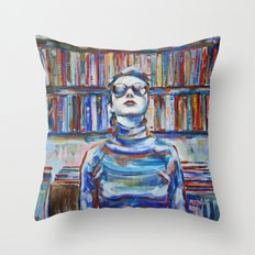 Vintage VHS Throw Pillow