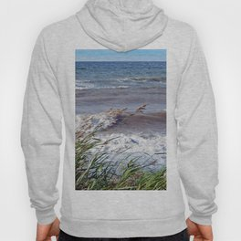 Waves Rolling up the Beach Hoody