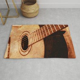 Guitar Art Rug