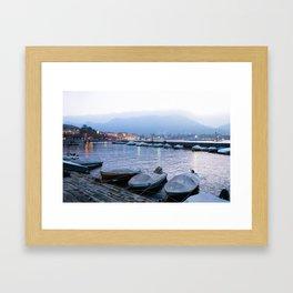 Lago di Como Framed Art Print