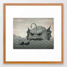 Old Salt - Revised Framed Art Print