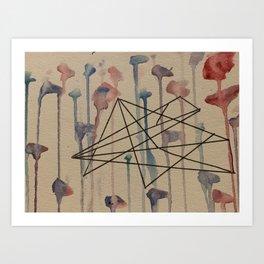 Organic Geometry Art Print