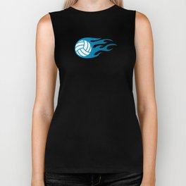 The Volleyball I Biker Tank