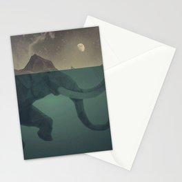 Elephant mountain Stationery Cards