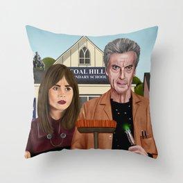 Twelfth & Clara Throw Pillow