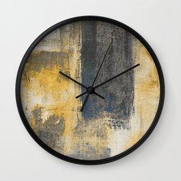 Pitch Lake Wall Clock