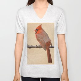 On Fire at Breeding Time Unisex V-Neck