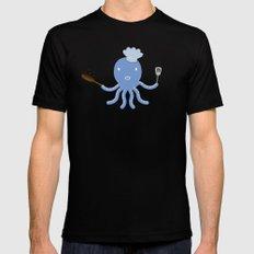 Octopus shef Mens Fitted Tee Black MEDIUM