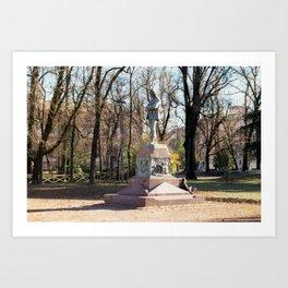 Sepmione Park Art Print