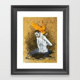 Light Source Framed Art Print