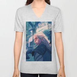 Toss a coin to your Witcher Unisex V-Neck