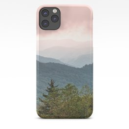 Great Smoky Mountain National Park Sunset Layers III - Nature Photography iPhone Case