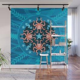 Ocean_Blue_02a Wall Mural