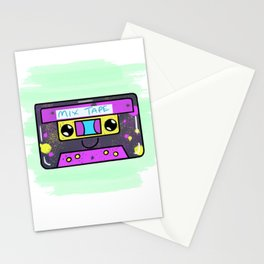 Kawaii Retro Cassette Tape Stationery Cards
