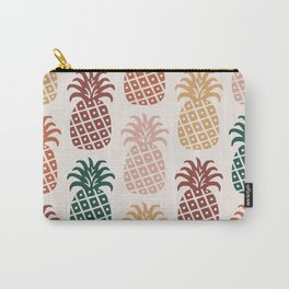 Retro Mid Century Modern Pineapple Pattern 477 Carry-All Pouch
