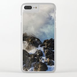 Pacific Waves // California Clear iPhone Case