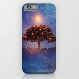 Energy & lights iPhone Case