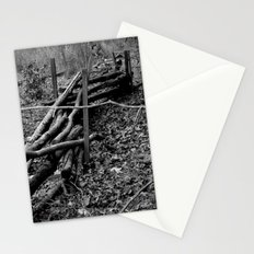 Fallen Fence Stationery Cards