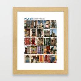 Pilsen Neighborhood Poster Framed Art Print
