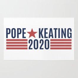 Pope Keating 2020 Rug