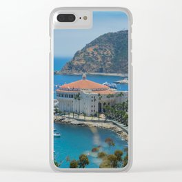 Catalina Island Casino Clear iPhone Case