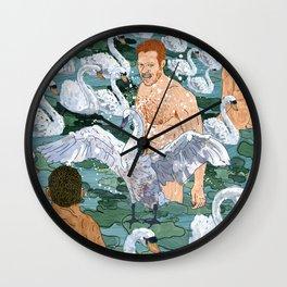 Swan Guys Wall Clock