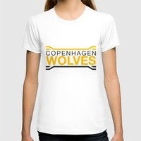 copenhagen T-shirts featuring Copenhagen Wolves by Thomas Official