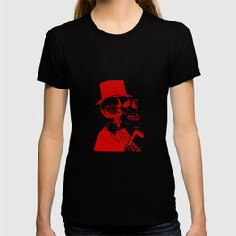 Skeleton in a Top Hat T-shirt