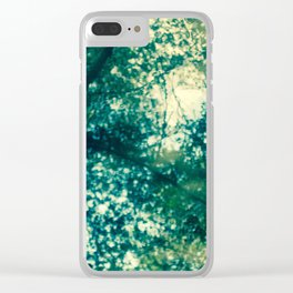 River Trees Clear iPhone Case