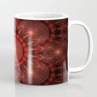 solar system Mugs featuring Solar System by Brian Raggatt