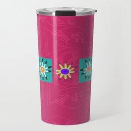 Paracas flowers Travel Mug