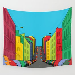 Tenement Hill Wall Tapestry