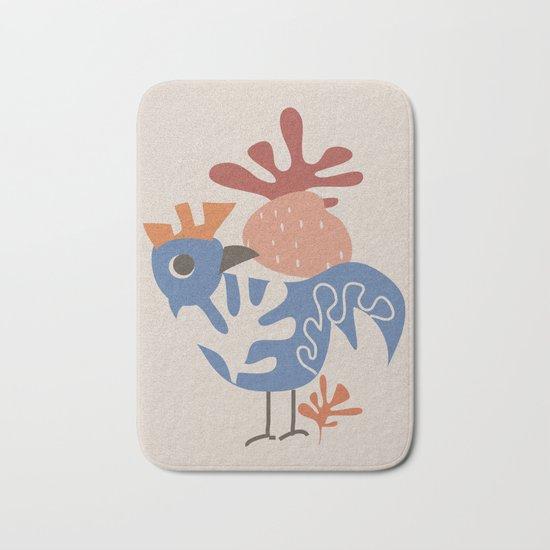 Wondering Rooster Bath Mat