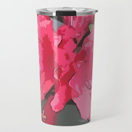 Crimson Azaleas Travel Mug