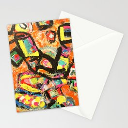 Picasso Style Sheep Stationery Cards