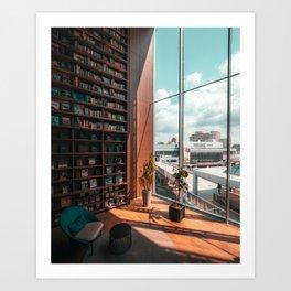 The Book Store - Osaka Japan Art Print