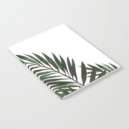 Palm Leaves Green Notebook