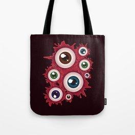 Bloody eyeballs Tote Bag