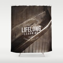 Lifelong Learning Shower Curtain