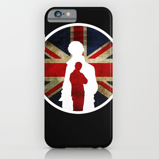 Queen and Country (Sherlock BBC) iPhone & iPod Case