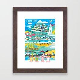 le Tour Framed Art Print