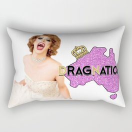 Dragnation Season 3 Holly Would NT Rectangular Pillow