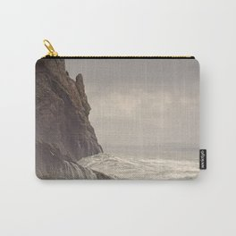 Undertow Pacific Ocean Columbia River Sea Seascape Nautical Fishing Boat Beach Waves Cliff Landscape Northwest Carry-All Pouch