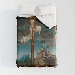 "Lucas Cranach the Elder ""The Crucifixion"" Comforters"